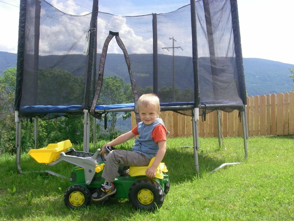 Latschenhof - trampolino