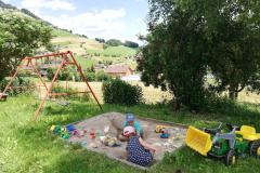 Latschenhof - giocare nella sabbia