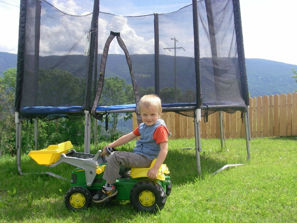 Latschenhof - trampoline