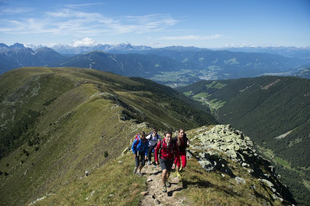 escursione in montagna