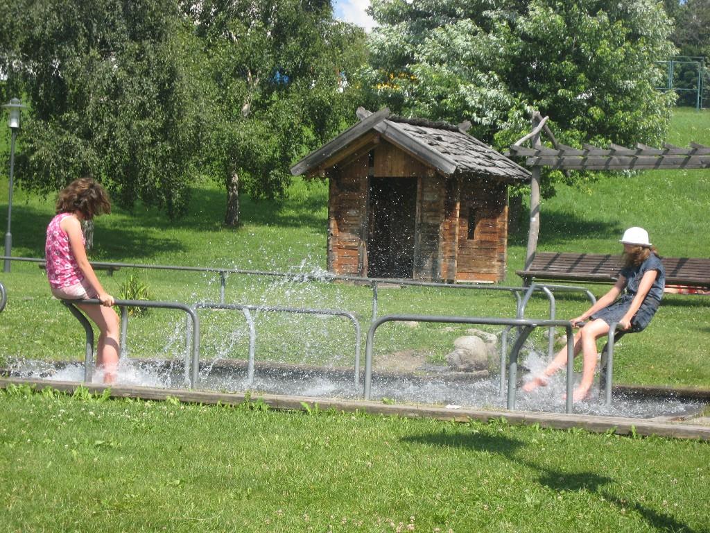 Kneippanlage im Freizeitpark Terenten