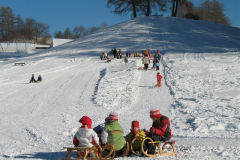 sledding Terento