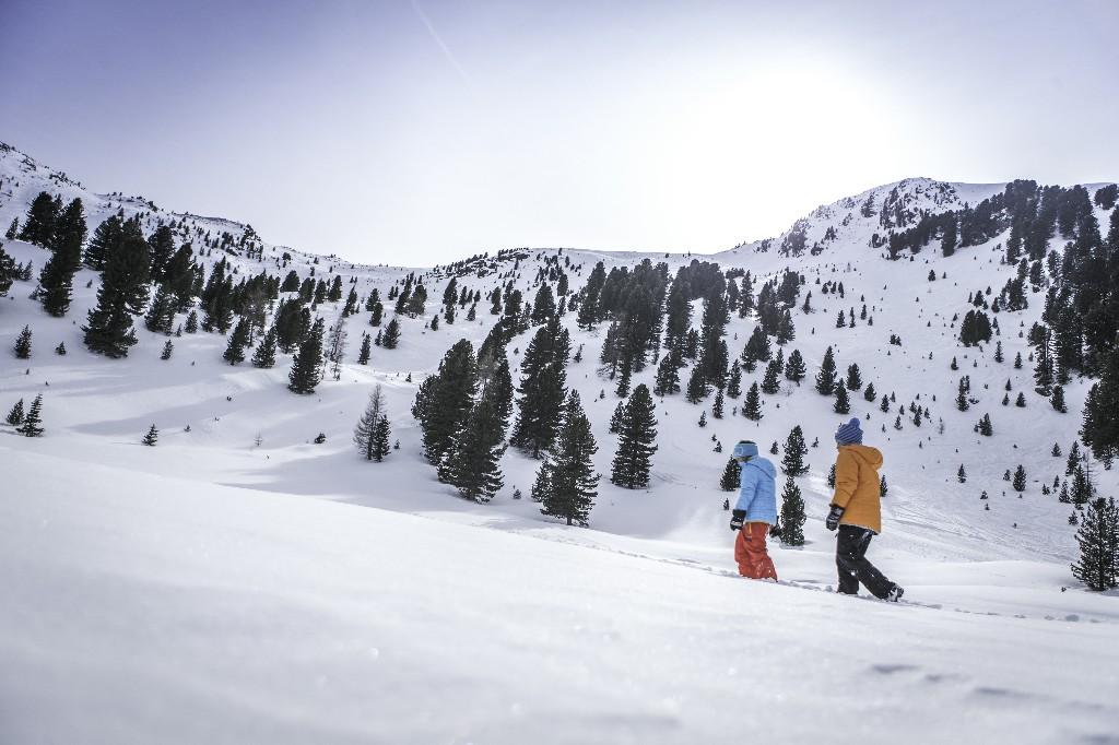 caminare nella neve